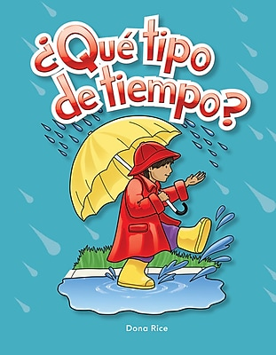 Teacher Created Materials Physical Book ¿Qué tipo de tiempo? (What Kind of Weather?) Lap Book (12499)