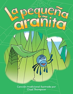 Teacher Created Materials Physical Book La pequeña arañita (The Itsy Bitsy Spider) Lap Book (12501)