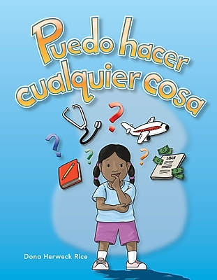 Teacher Created Materials Physical Book Puedo hacer cualquier cosa (I Can Be Anything) Lap Book (12951)