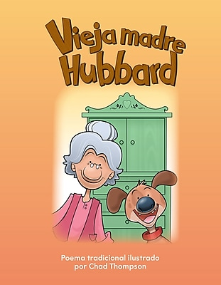 Teacher Created Materials Physical Book Vieja madre Hubbard (Old Mother Hubbard) Lap Book (12953)
