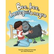 Teacher Created Materials Physical Book Bee, bee, borreguito negro (Baa, Baa, Black Sheep) Lap Book (13095)