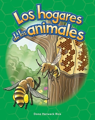 Teacher Created Materials Physical Book Los hogares de los animales (Animal Homes) Lap Book (13097)