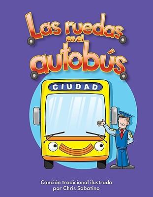Teacher Created Materials Physical Book Las ruedas en el autobús (The Wheels on the Bus) Lap Book (13117)