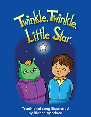 Teacher Created Materials Physical Book Twinkle, Twinkle, Little Star Lap Book (13328)
