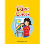 Teacher Created Materials Physical Book I See Colors Lap Book (13335)