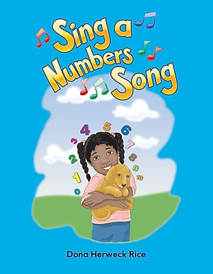 Teacher Created Materials Physical Book Sing a Numbers Song Lap Book (13342)