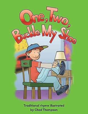 Teacher Created Materials Physical Book One, Two, Buckle My Shoe Lap Book (13344)