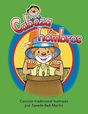 Teacher Created Materials Physical Book Cabeza y hombros (Head and Shoulders) Lap Book (13503)