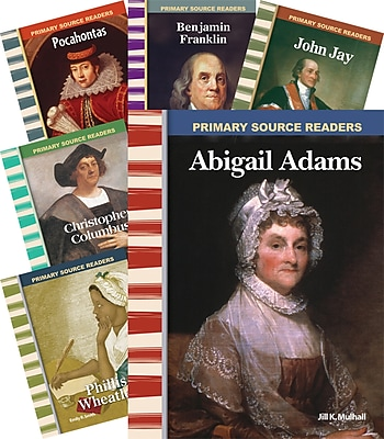 Teacher Created Materials Early American Biographies Set (14782)