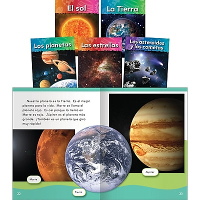 Teacher Created Materials Neighbors in Space Set, 5 Titles (15003)