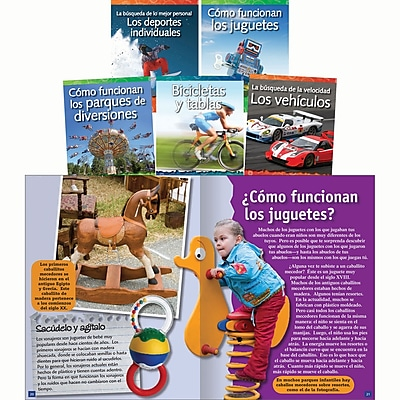 Teacher Created Materials Forces and Motion Spanish Set, 5 Titles (15006)