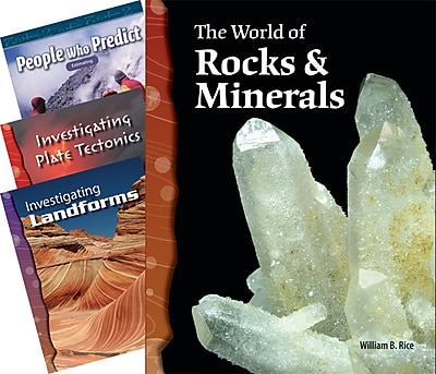 Teacher Created Materials Earth Science Book, Set of 4 (15072)