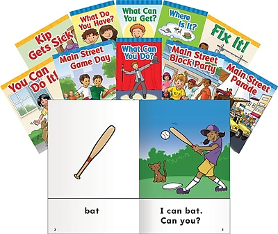 Teacher Created Materials Vowels and Rimes Storybooks, Mixed Letter Practice Set (16094)