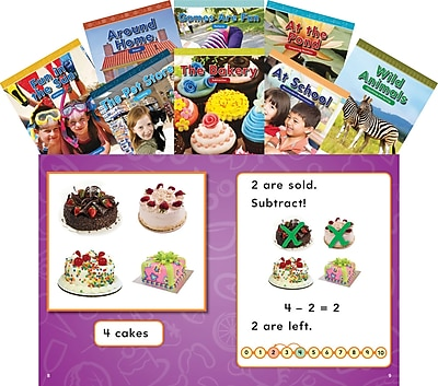 Teacher Created Materials Mathematics Readers for Kindergarten Set 1 (16113)