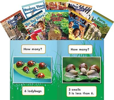 Teacher Created Materials Mathematics Readers for Kindergarten Set 2 (16115)