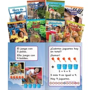 Teacher Created Materials Mathematics Readers for Kindergarten Set 2 Spanish (16116)