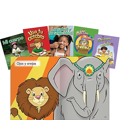 Teacher Created Materials Healthy You Set PreK-K Spanish (16125)