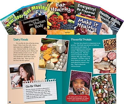 Teacher Created Materials Healthy You Set, Grades 3-5 (16128)