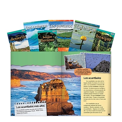 Teacher Created Materials Earth's Ecosystem Spanish Set, Grades 1-2 (16136)