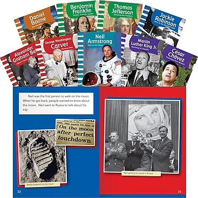 Teacher Created Materials American Biographies Set, Men (16150)