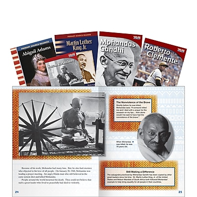 Teacher Created Materials Equality for All, Book Set, Grades 3-5 (16160)