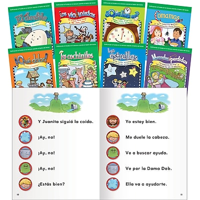 Teacher Created Materials Reader's Theater, Nursery Rhymes Spanish Set (16165)