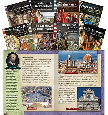 Teacher Created Materials World History Eras and Events (17625)