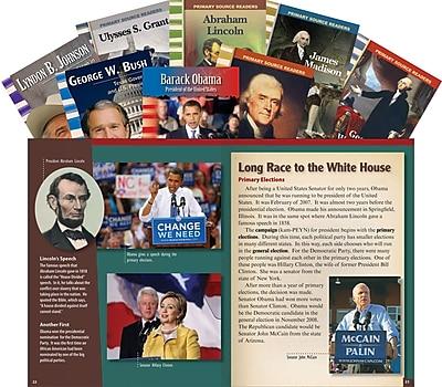 Teacher Created Materials U.S. Presidents Biographies 8-Book Set (18381)