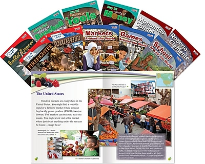 Teacher Created Materials Social Studies Guided Reading, Grade 3 11-Book Set (18400)
