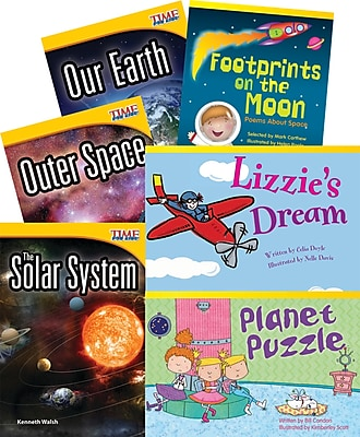 Teacher Created Materials Space Adventures, 6-Book Set (20225)