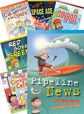 Teacher Created Materials Literary Text, Grade 3 Readers Set 1, 10-Book Set (20228)