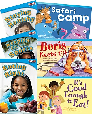 Teacher Created Materials Healthy and Fit! 6-Book Set (20241)