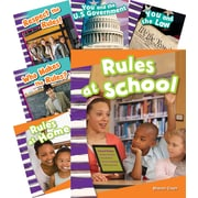 Teacher Created Materials Rules and Authority 6-Book Set (20597)