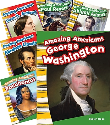 Teacher Created Materials Amazing Americans! 6-Book Set (20602)