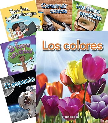 Teacher Created Materials Early Childhood Science Spanish Collection of 30 Books (21315)