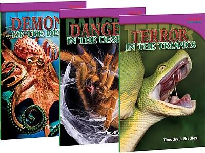 Teacher Created Materials Animal Demons, Danger and Terror! 3-Book Bundle (21409)