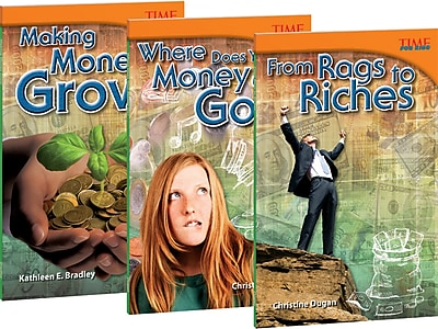 Teacher Created Materials Money! Money! Money! 3-Book Bundle (21410)