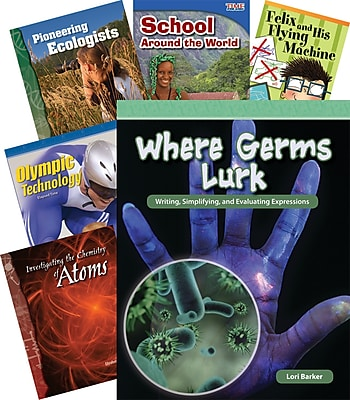 Teacher Created Materials Book Room Collection, Grades 3-5 Set 4 (22007)