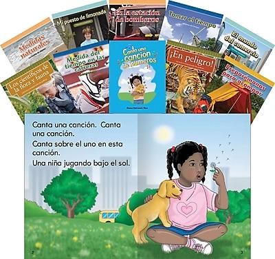 Teacher Created Materials Mathematics, Grade 3, 10-Book Spanish Set (22242)