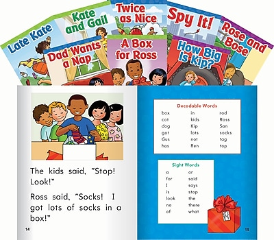 Teacher Created Materials Targeted Phonics Set 2 8-Book Set (22410)