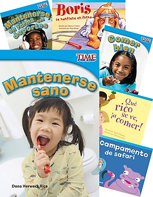 Teacher Created Materials ¡Saludable y en forma! (Healthy and Fit!) 6-Book Set (22797)
