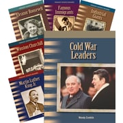 Teacher Created Materials Biographies, 20th Century 8-Book Set (22807)