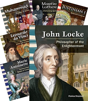 Teacher Created Materials Biographies, World History 8-Book Set (22815)