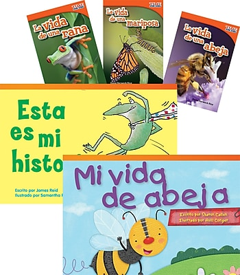 Teacher Created Materials Ciclos de vida (Life Cycles) 6-Book Set (22816)