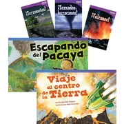 Teacher Created Materials Desastres naturales (Natural Disasters) 6-Book Set (22823)