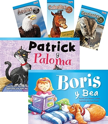 Teacher Created Materials Especies animales (Animal Species), 6-Book Set (22830)