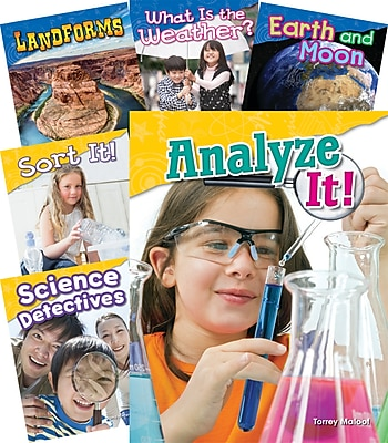 Teacher Created Materials Essential Earth and Space Science Concepts 18-Book Set (22831)