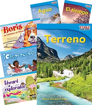 Teacher Created Materials Explora la Tierra (Explore Earth) 6-Book Set (22834)