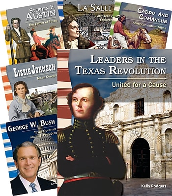 Teacher Created Materials Leaders in Texas History 8-Book Set (22841)