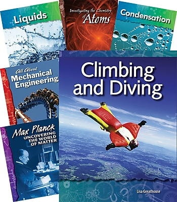 Teacher Created Materials Physical Science Under the Microscope 18-Book Set (22846)
